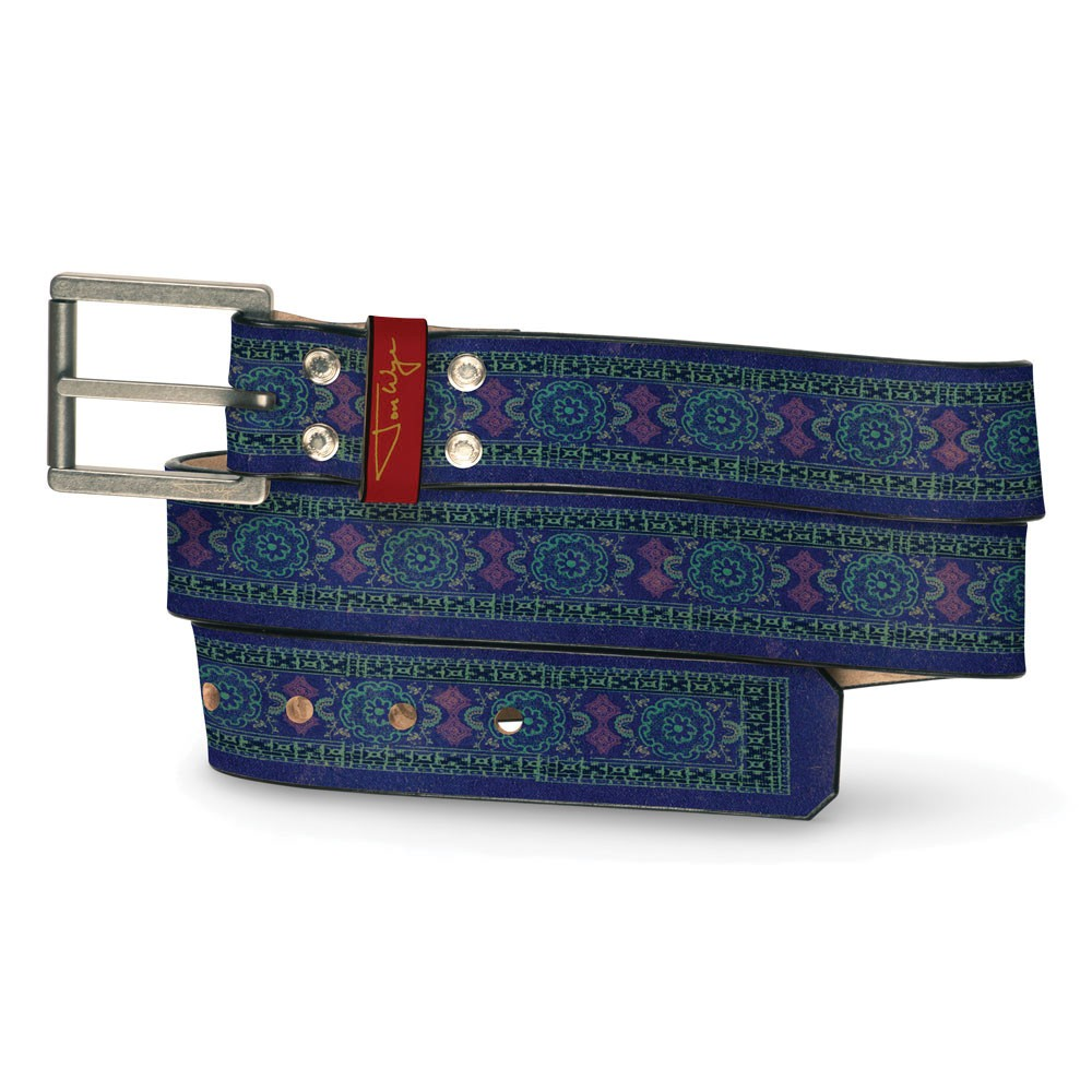 Bizarro New India Print Belt - Front