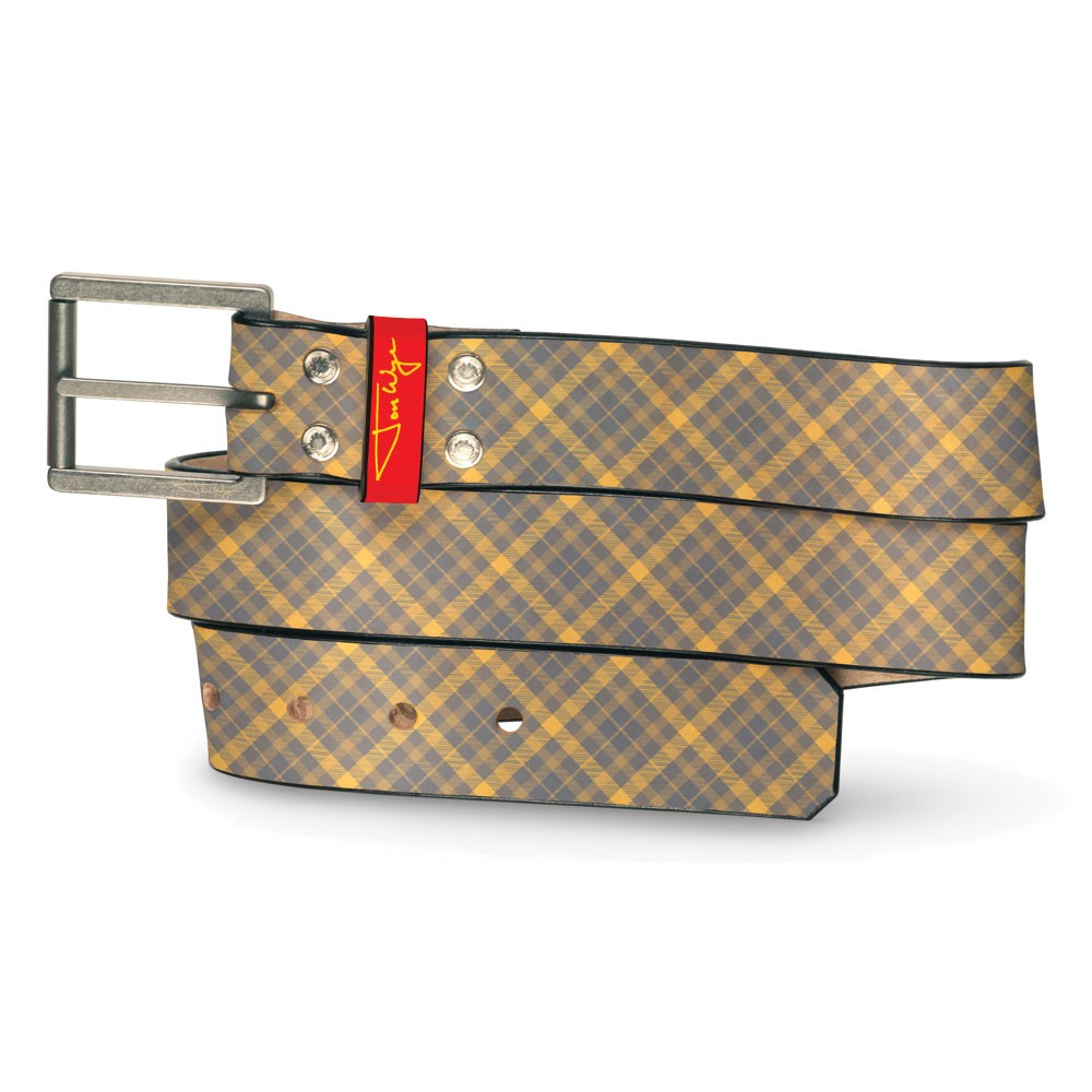 Hamptons Plaid Belt - Front
