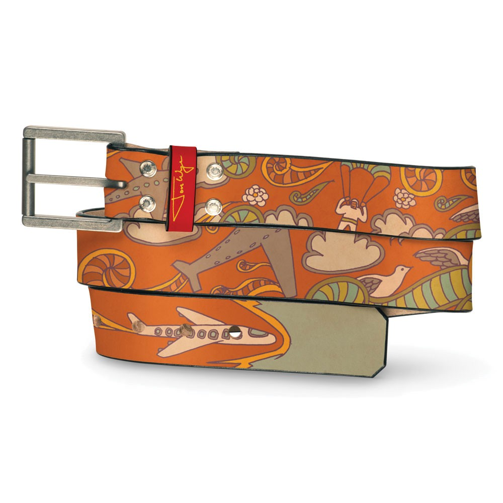Happy Airplane Belt - Front