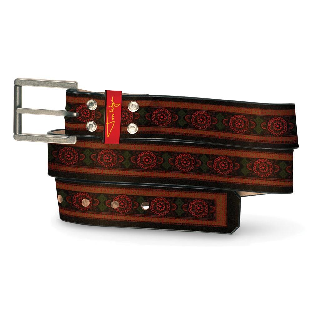 New India Crimson Belt - Front