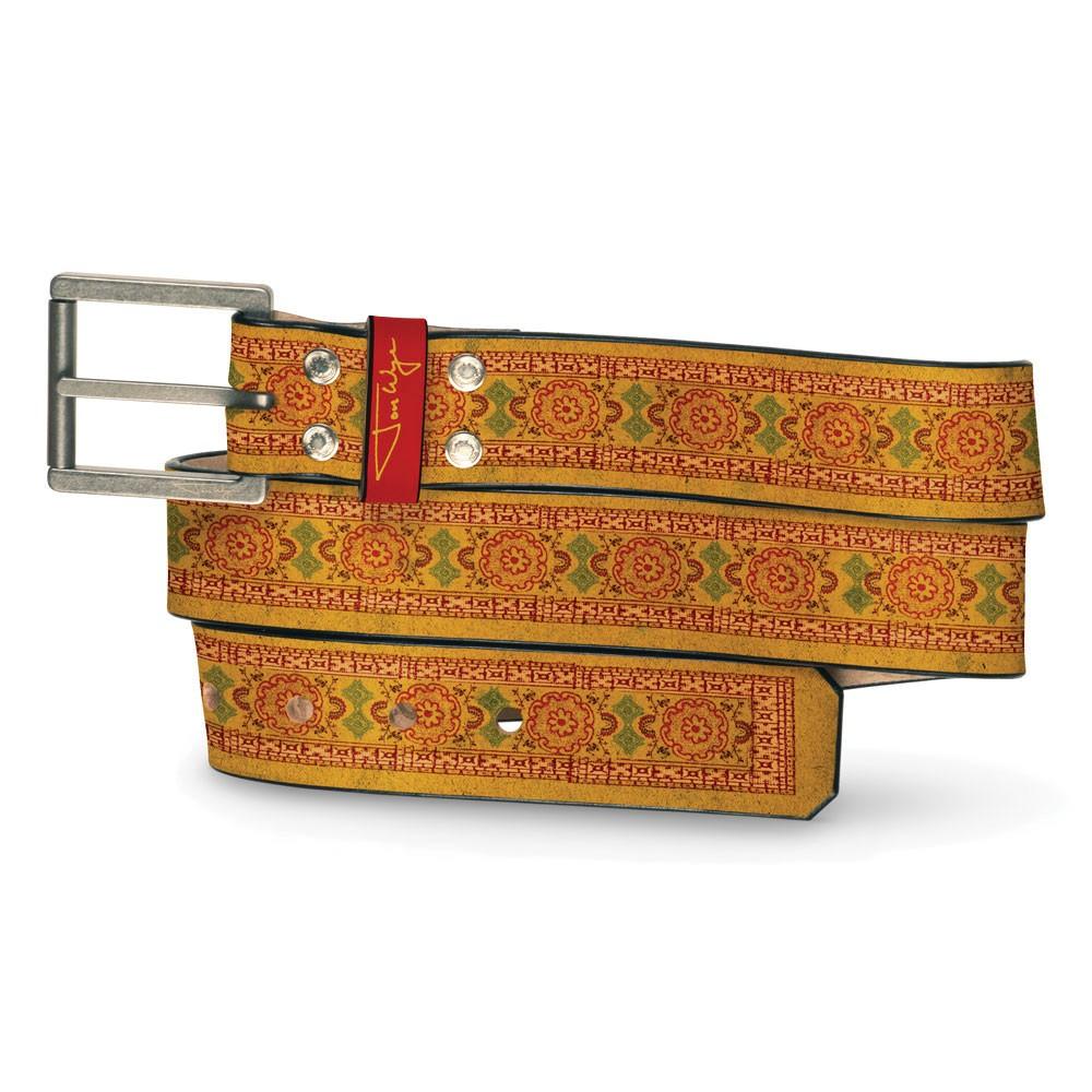 New India Ochre Belt - Front