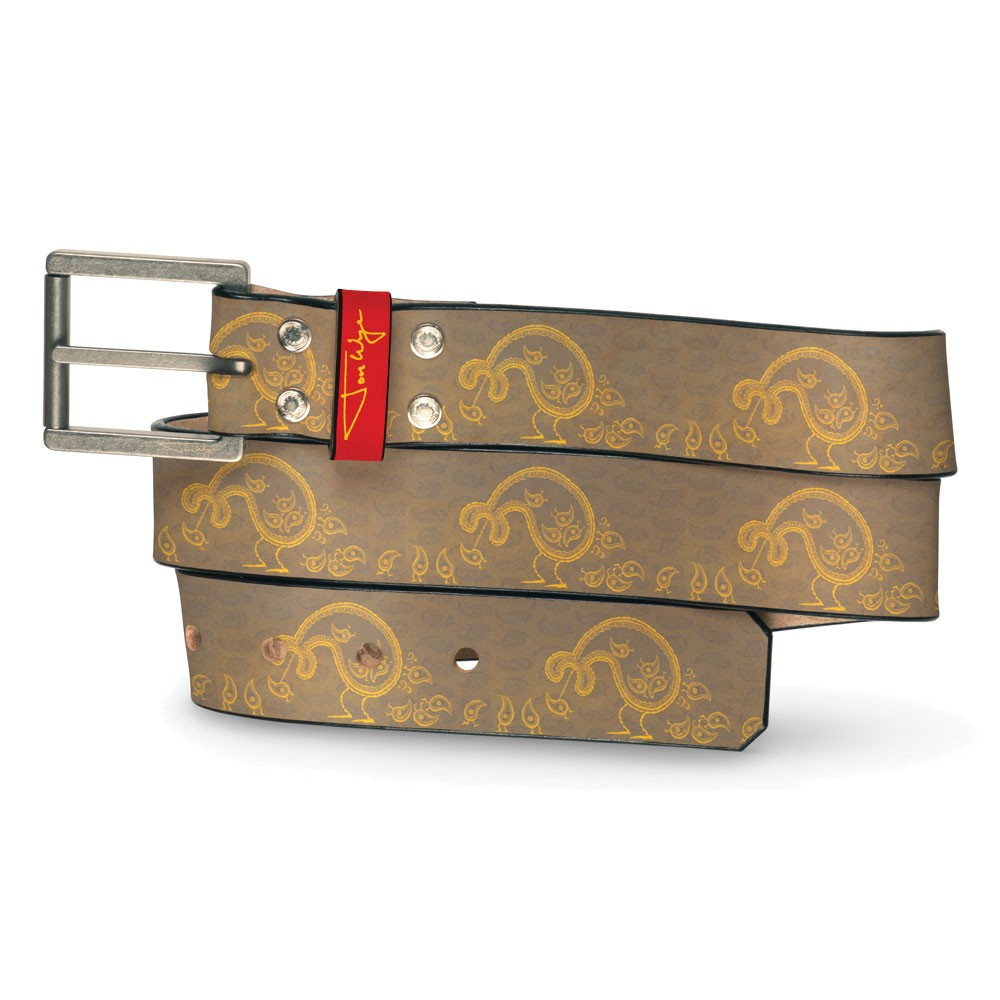 Paisley Eater Combover Belt - Front