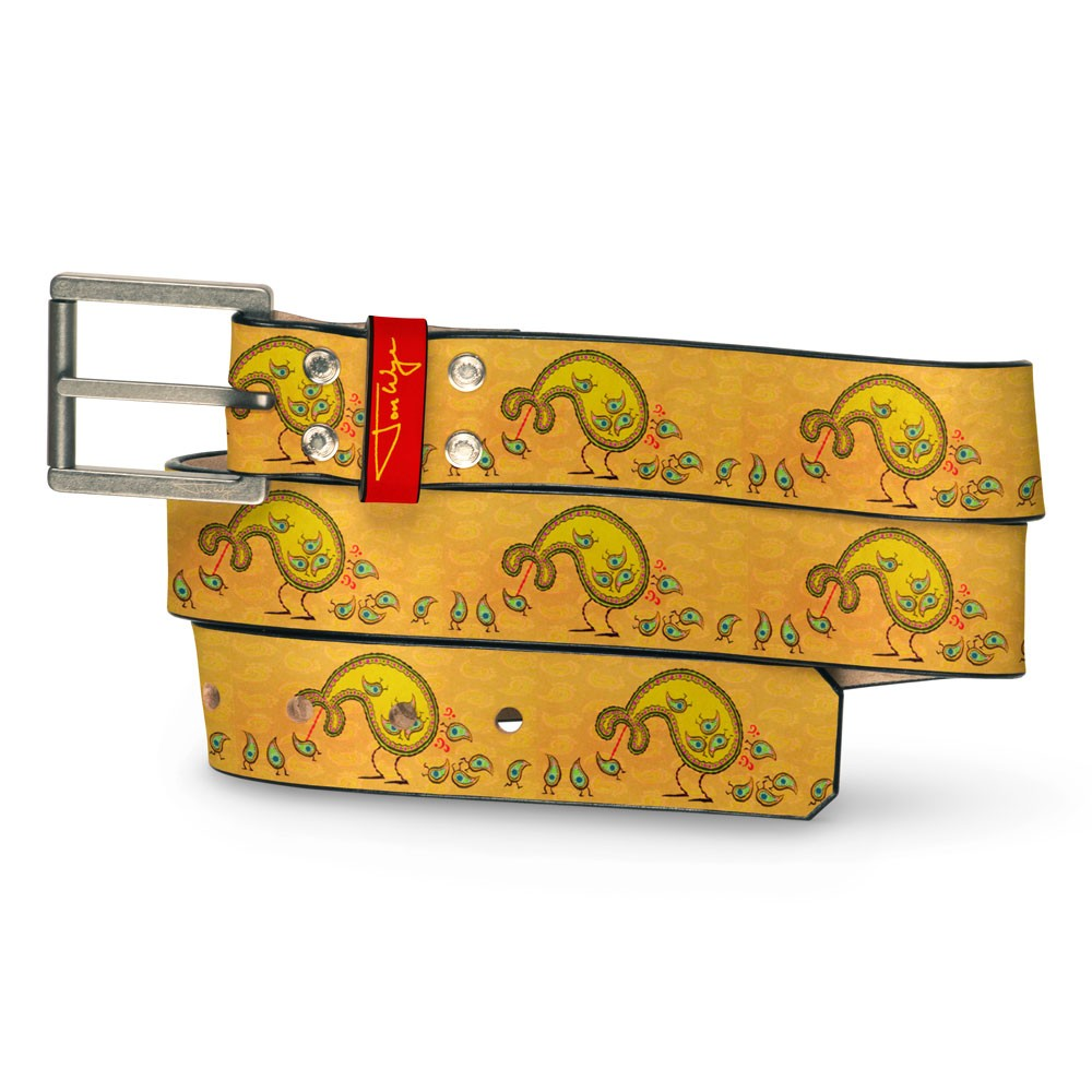 Paisley Eater Belt - Front