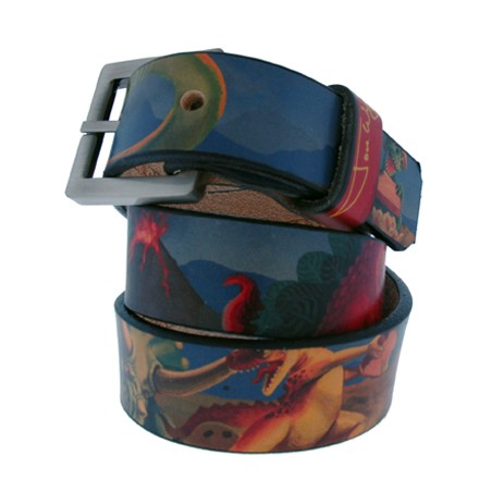 Dinosaurs Making Toast Kids' Belt