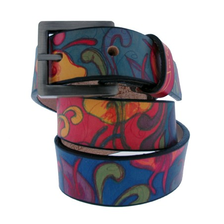 Post-Matisse Flowers Kids' Belt