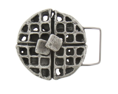 Waffle Belt Buckle